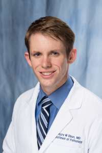 Gregory Olsen, Resident physician, first year, Department of Pathology, University of Florida